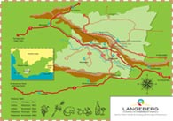 Langeberg-Tourism-map