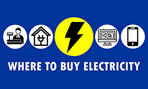 Where to buy electricity & pay your municipal accounts